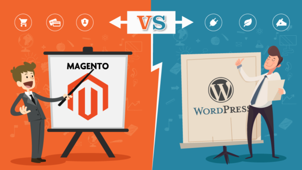 cms-magento-vs-wordpress-hire-php-developer-600x338
